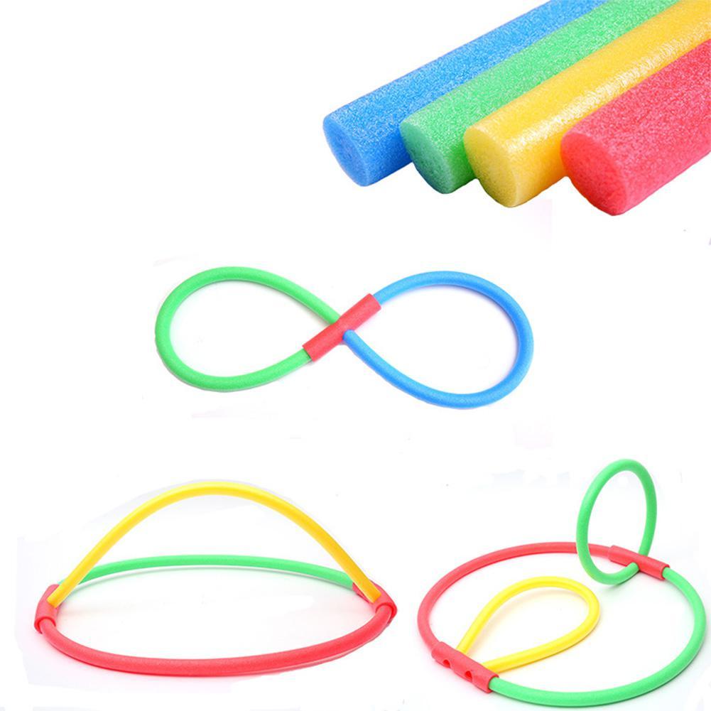 Flexible Colorful Solid Foam Pool Noodles Swimming Water Float Aid Noodles Lawn Amusement Park