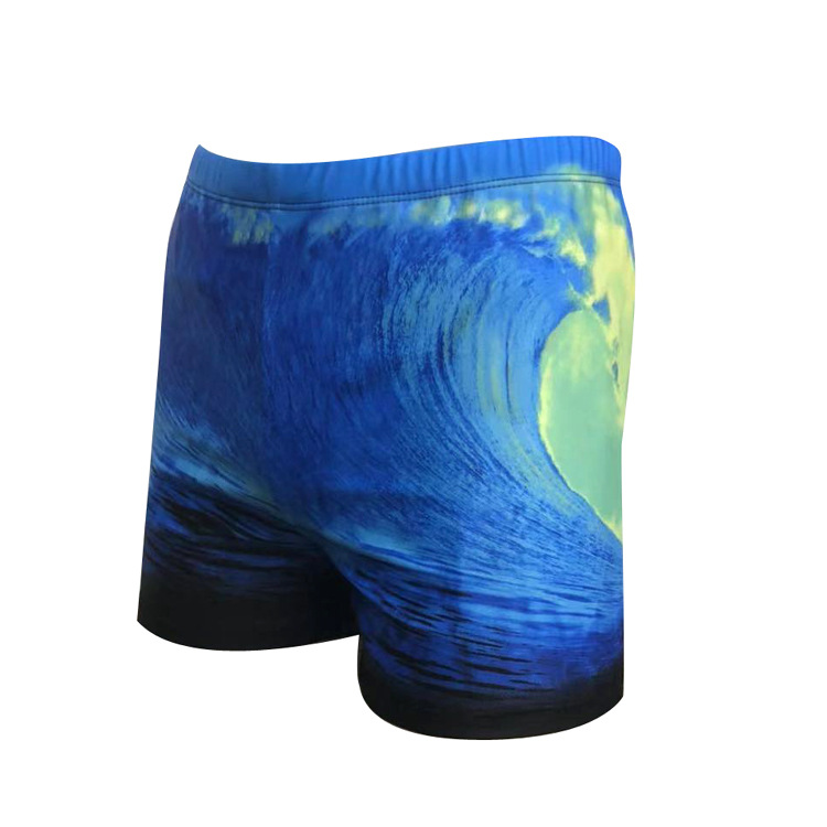 New Style Men Floral Boxers Swimming Trunks Comfortable Fashion Quick-Dry Hot Springs Swimming Beach Shorts Large Size Fashion M