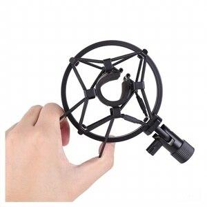 Image 4 - Metalen Shockmonut Studio Opname Microfoon Shock Mount Spider Mic Houder Clip