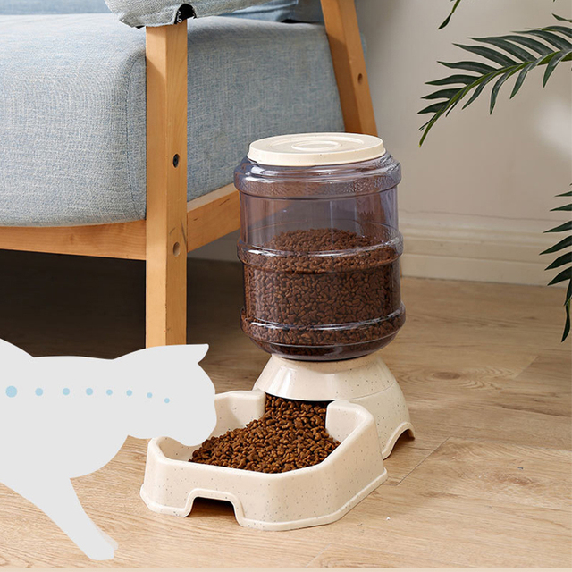 Kitten & Puppy Bowl Automatic Feeders 4