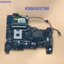 Zzznayq para toshiba satélite l670 l675 computador portátil placa-mãe k000103790 hm55 nalaa LA-6042P mainboard hd500 8 pm 100% teste de trabalho