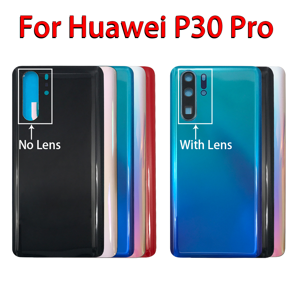 Back Glass Rear <font><b>Cover</b></font> For <font><b>Huawei</b></font> <font><b>P30</b></font> Pro <font><b>Battery</b></font> Door Housing <font><b>Battery</b></font> back <font><b>cover</b></font> image