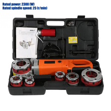 Threading-Machine Electric-Pipe with 6-Dies Good-Quality New Handheld Portable
