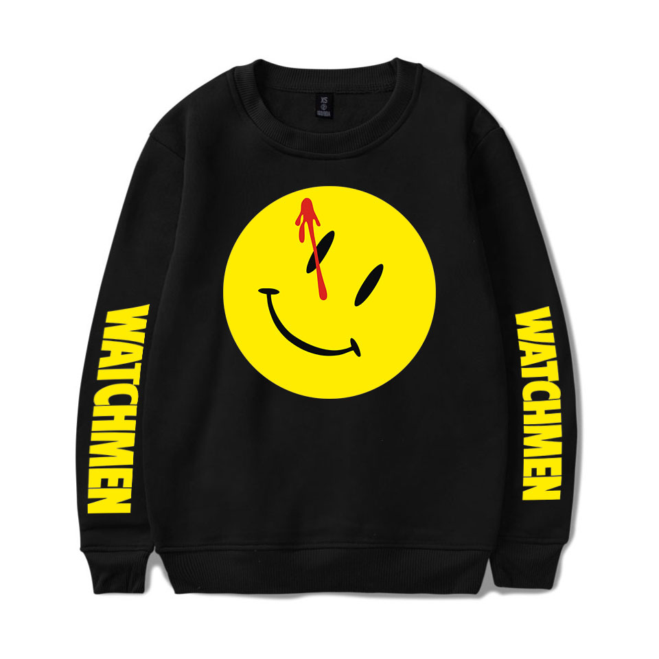 New Watchmen Capless Hoodies Sweatshirts Men / Women Capless Hoodie Sweatshirts Watchmen Fashion Casual Sweatshirts All-match