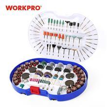 WORKPRO 276PC Dreh Werkzeug Zubehör für Dremel Mini Bohrer Set Schleif Werkzeuge Schleifen Schleifen Polieren Schneiden Tool Kits