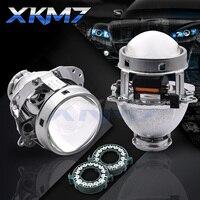 Headlight Lenses EVOX R V2.0 Bixenon HID Projector For BMW E60 E39 E53/Audi A6 C5/Benz W211 W209 W219/Ford Fiesta/B6 B5.5 Tuning