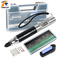TUNGFULL elektrikli matkap pil paketleri akülü matkaplar için Dremel Mini matkap makinesi gravür delme kesme makinesi
