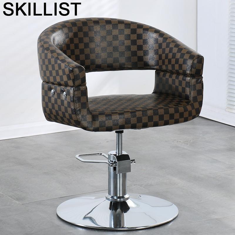 Chaise Barbero Schoonheidssalon Barberia Cabeleireiro Beauty Cadeira De Barbeiro Sessel Silla Shop Salon Barbershop Barber Chair