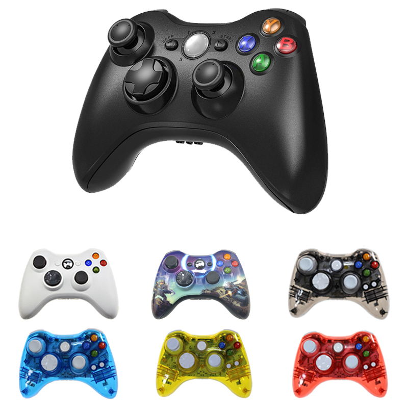 Wireless Wired Bluetooth Controller For Xbox 360 Gamepad Joystick For X box 360 Jogos Controle Win7 8 10 PC Game Joypad