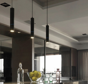 Image 4 - โมเดิร์นไฟ LED จี้หลอด Macaron จี้โคมไฟ Counte stroe ห้องโคมไฟห้องครัว hanglamp โคมไฟ