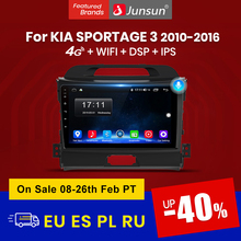 Navigation GPS Multimedia Video-Player Car-Radio Android Junsun V1 Kia Sportage 2-Din