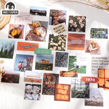 Mr paper 4 wzory 30 sztuk partia Frozen Fantasy Series Ins Style kreatywność naklejki dekoracje podstawowe dekoracje ręcznie konto materiał tanie i dobre opinie CN (pochodzenie) 20201222 3 lata Irregular Figure 110x90mm 4 designs 30pcs bag