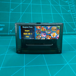 "Image 1 - KY טכנולוגיה סופר 800 ב 1 פרו Remix משחק כרטיס עבור SNES 16 קצת וידאו משחק קונסולת מחסנית תמיכה כל ארה""ב/EUR/יפן קונסולות"