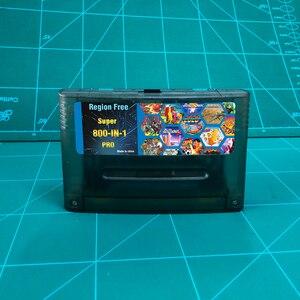 Image 1 - KY Technology Super 800 in 1 Pro Remix scheda di gioco per la cartuccia della Console per videogiochi SNES a 16 Bit supporta tutte le Console USA/EUR/giappone