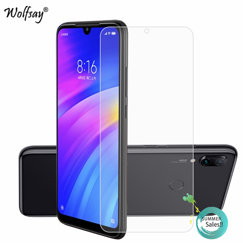 2PCS Glass For Xiaomi Redmi 7 Screen Protector Tempered Glass For Xiaomi Redmi 7 8A Glass Film For Xiaomi Redmi 7 7A Note 8 Pro