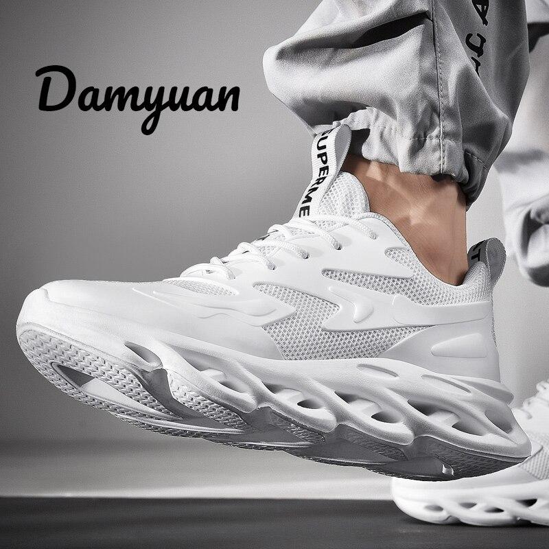Damyuan 2019 nouvelle mode classique 46 hommes Flyweather confortables Non-cuir décontracté léger Jogging sport Plug taille 48 chaussures