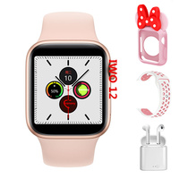 Original IWO 12 Smart watch 30+ Watch faces IWO12 Smartwatch For Iphone Android ECG Heart Rate Monitor Wearable Device VS IWO 8