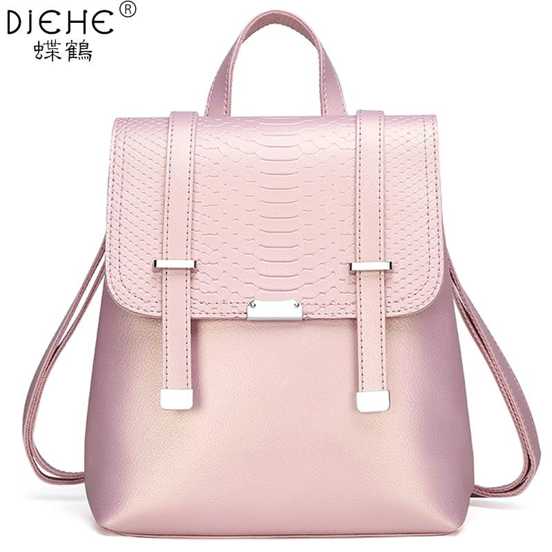 Fashion Backpack Women Shoulder Bag Large Capacity Female Backpacks School Bag For Teenager Girls Vintage Ladies Travel Rucksack