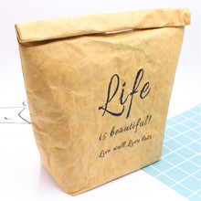 лучшая цена Vogvigo Portable Waterproof  Lunch Bag  Paste Thermal Insulated Lunch Box Tote for Cooler Case Food Storage Picnic Bags Letter