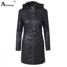 Patchwork Leather Female Women