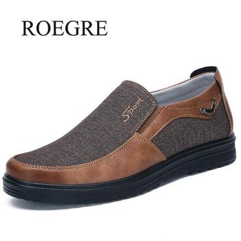 2019 New Men Loafers Comfortable Casual Sneakers Shoes Canvas Shoes Male Shoes Brand Fashion Bussiness Flat Loafers Drop Ship