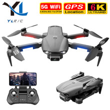 Nova f9 zangão 6k dupla câmera hd 4k profissional fotografia aérea motor sem escova dobrável quadcopter rc distância 1200m