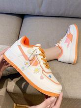 Кроссовки женские на платформе, повседневная обувь, большие размеры XL 42, весна 2021