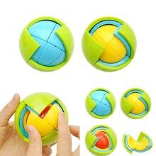 Лабиринт игровой шар Интеллектуальный трехмерный детский пластиковый пазл развивающий игрушечный шар