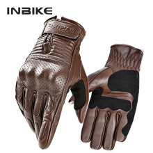 Goat Skin Gloves Motorcycle Breathable Motorbike Glove Anti Friction Glove Protective Gear For Summer Guantes