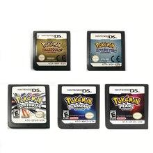 Tarjeta de Pokémon 3DS NDSi NDS todo en 1, videojuego, Ds, Gold Heart, Gintama/Beauty, Nintendo NDS, 2DS, 3DS, NDSL, sin caja de Juguetes