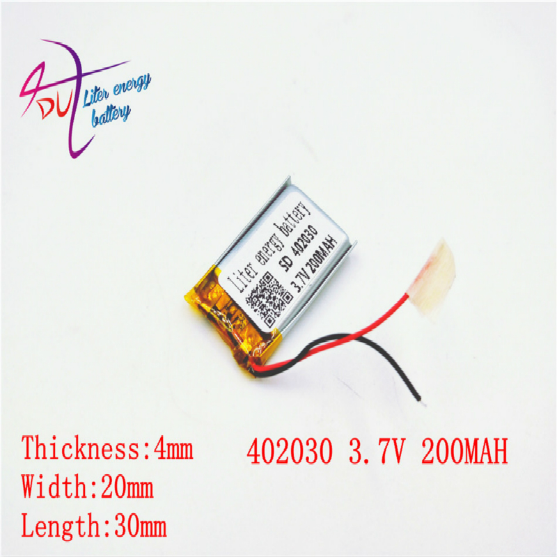 [SD] <font><b>3.7V</b></font>,250mAH,[<font><b>402035</b></font>] Polymer lithium ion / Li-ion <font><b>battery</b></font> for TOY,POWER BANK,GPS,mp3,mp4,cell phone,speaker image