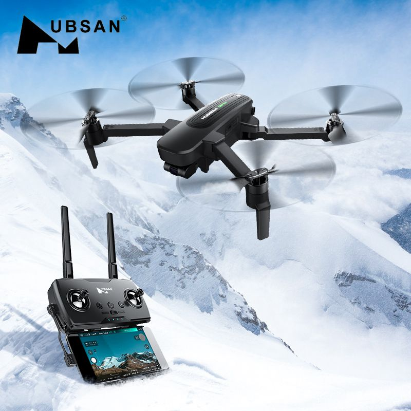 Original Hubsan Quadcopter ZINO PRO GPS 5G WiFi 4KM FPV with 4K UHD Camera 3-Axis Gimbal Sphere Panoramas RC Drone Quadcopter