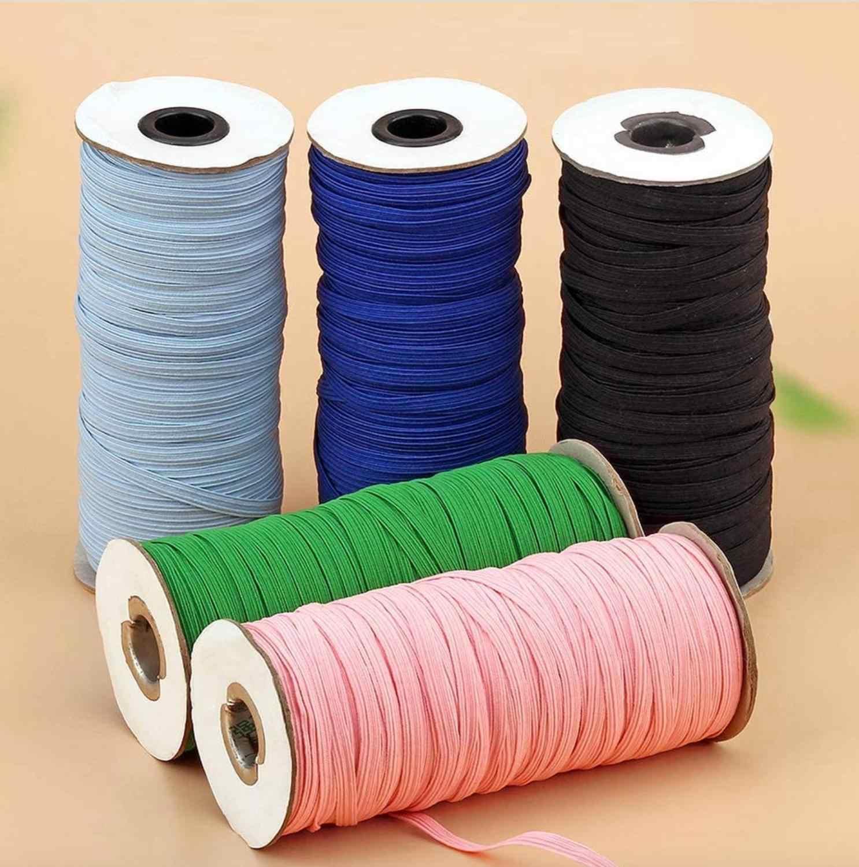 118yd 3mm Braided Elastic Cord//Elastic Band//Elastic Rope//Stretch Elastic Spool