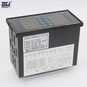 Image 5 - דיגיטלי תרמוסטט 8 דרכים SSR פלט טמפרטורת בקר עם 8 דרכים DC מתח פלט התראה עם RS485 תקשורת