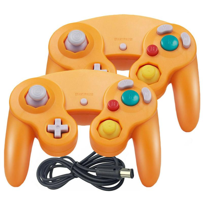 For Gamecube For NGC Controller GC Port PC USB Wired Gamepad Joypad Joystick For Nintendo For MAC Computer Game Accessory