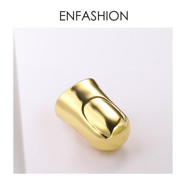 Купить женское кольцо enfashion в стиле панк на палец аксессуары золотого картинки цена
