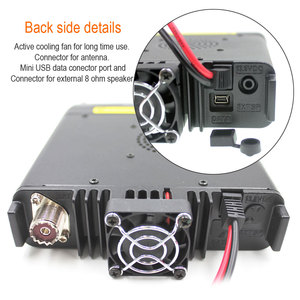 Image 4 - 2005A TYT TH 9800 Plus Walkie Talkie 50W Car Mobile Radio Station Quad Band 29/50/144/430MHz Dual Display Scrambler TH9800