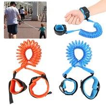 Детский ремень безопасности, не теряющийся, на запястье, не теряющийся браслет, детский ремень, веревка, для малышей, поводок, для детей, для прогулок, на руку, ремень
