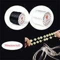 Прочный эластичный шнур для браслетов, 50 метров/рулон, ширина 0,7 мм