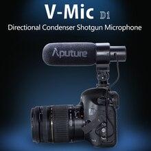 Aputure V Mic D1 Micro dành cho Máy Ảnh Canon Nikon Sony MÁY Ảnh DSLR Cho Youtube Video Phỏng Vấn Thu Âm Condenser Bắn Micro