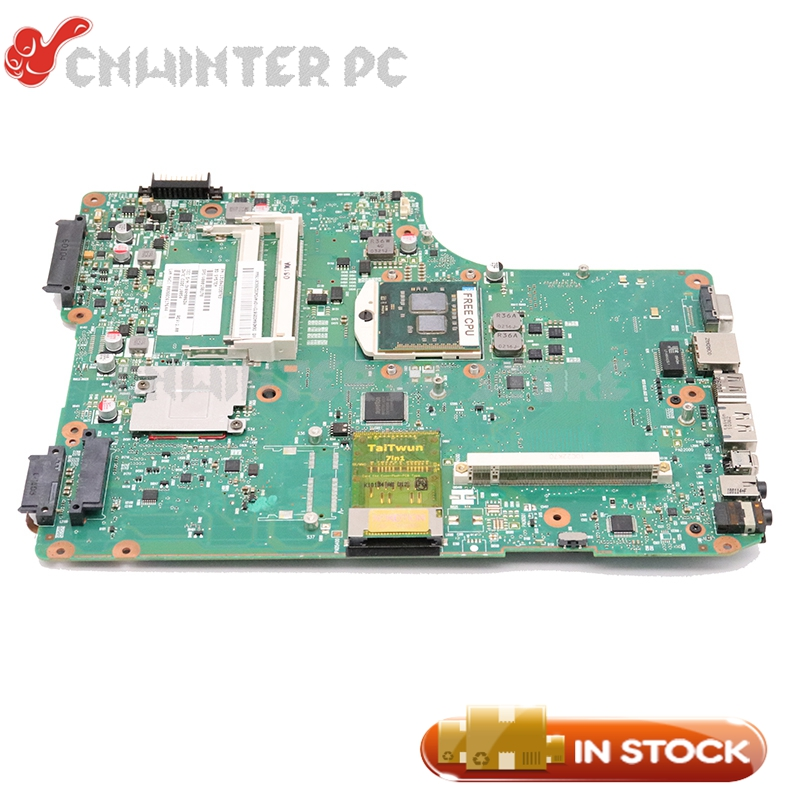 NOKOTION For <font><b>Toshiba</b></font> Satellite A500 <font><b>A505</b></font> Laptop <font><b>motherboard</b></font> 6050A2338701-MB-A01 V000198170 HM55 DDR3 with graphics slot image