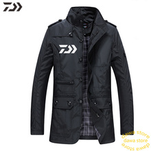 Daiwa ветрозащитная термальная одежда для рыбалки зимняя мужская Толстая походная куртка для активного отдыха спортивная водонепроницаемая одежда