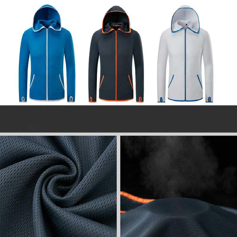 Outdoor Kreative Ice Silk Radfahren Jacken Wasserdichte Anti-Fouling Schnell Trocknend Sonnenschutz Kleidung Atmungsaktiv Ultra-dünne Anzüge