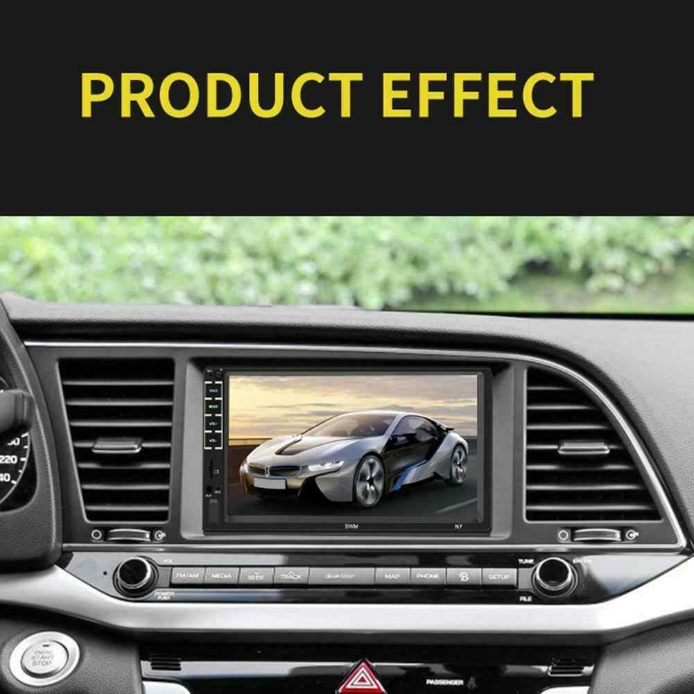 """Autoradio 7 """"ستيريو سيارة راديو بلوتوث AUX/USB/FM 2 الدين رئيس وحدة MP5 لاعب لمس الشاشة"""