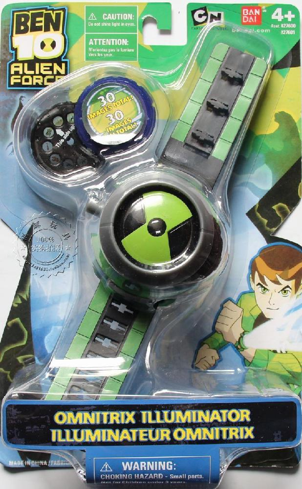 >Kuulee BEN10 Style <font><b>Kids</b></font> Projector Watch + Worldwide