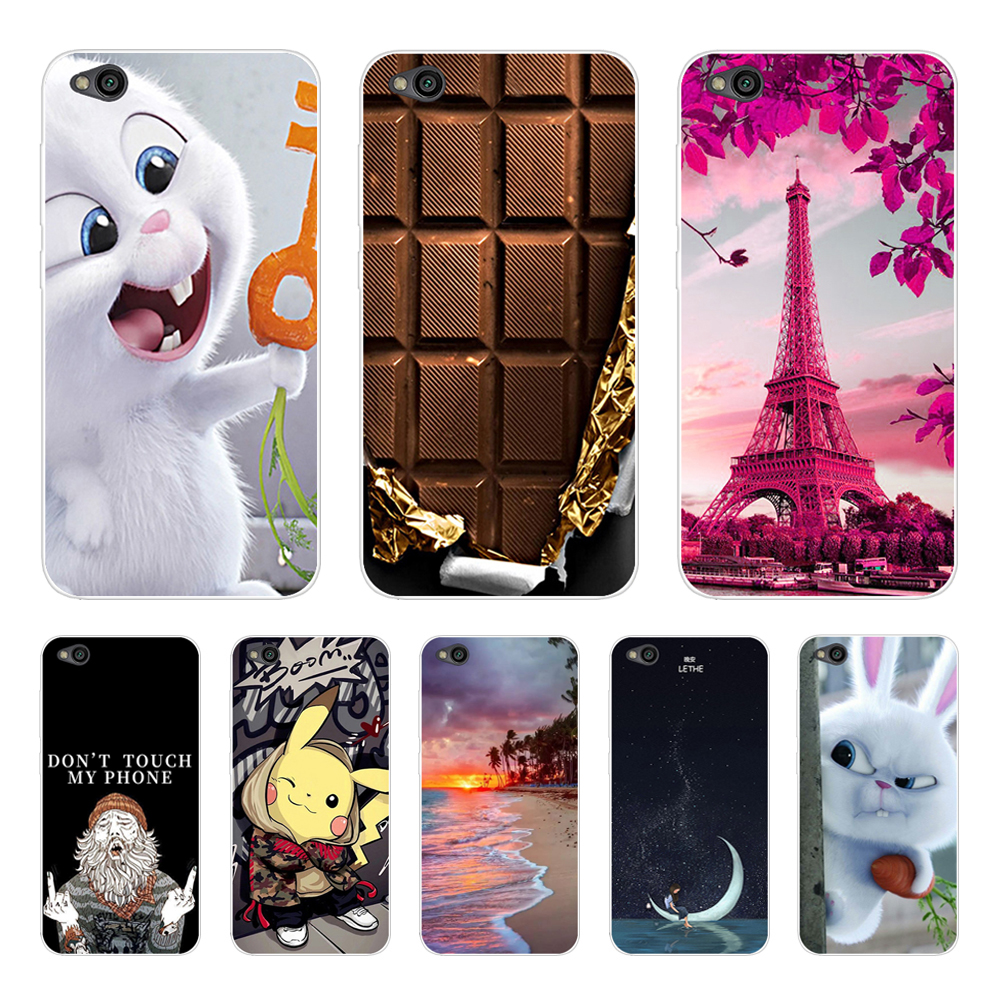 For Xiaomi Redmi Go Case On Redmi Go Cover Silicone Soft Back Cover Case For Xiomi Xiaomi Redmi Go Phone Cases Fundas Coque 5.0'