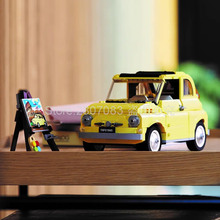 In Stock 10271 960Pcs Ideas Technic European Classic FIATed 500 Car Vehicle Building Blocks Bricks Kids Toys MOC-39097
