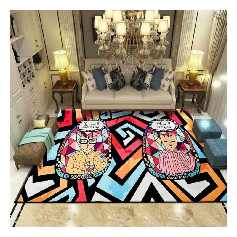 Salon bébé tapis rampant Style nordique maison moderne modèle minimaliste tapis activité tapis jouet tapis bébé tapis d'escalade