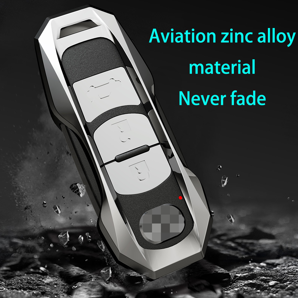 Aviation Zinc Alloy Car key fob cover case protect for Mazda 2 mazda 3 mazda 5 mazda 6 CX-3 CX-4 CX-5 CX-7 CX-9 Atenza Axela MX5