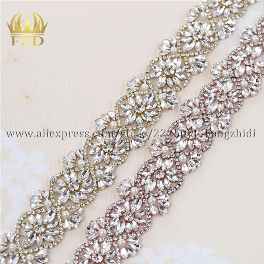 DIY Wedding Applique//Beaded Crystal Rhinestone Trim for Dress//Bags//Shoes//Sash Belt Iron On//Hot Fixed//Glued//Sew On-Silver Flower